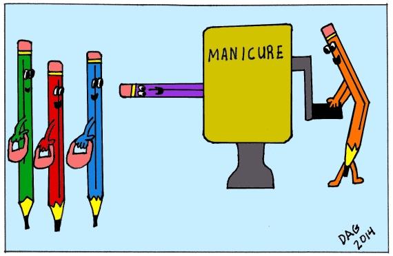 pencilmanicure